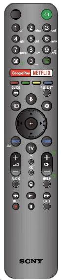 Sony RMF-TX611E originální dálkový ovladač