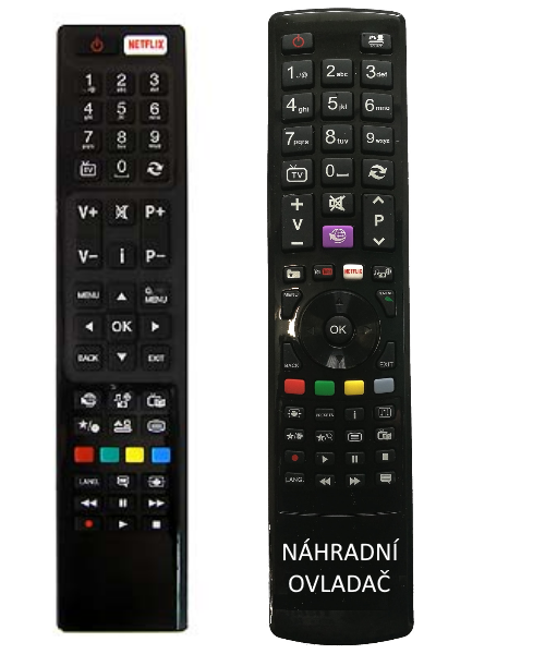 Gogen TVF40N384STWEB RC4848 30091082, 300 910 82  náhradní dálkový ovladač se stejným popisem