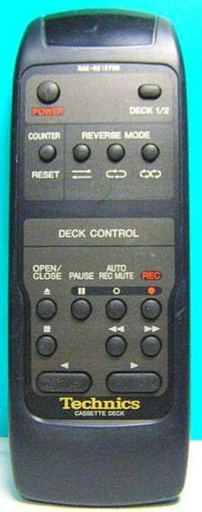 Technická RAK-RS107WH, RAK-RS108WH náhradní dálkový ovladač jiného vzhledu