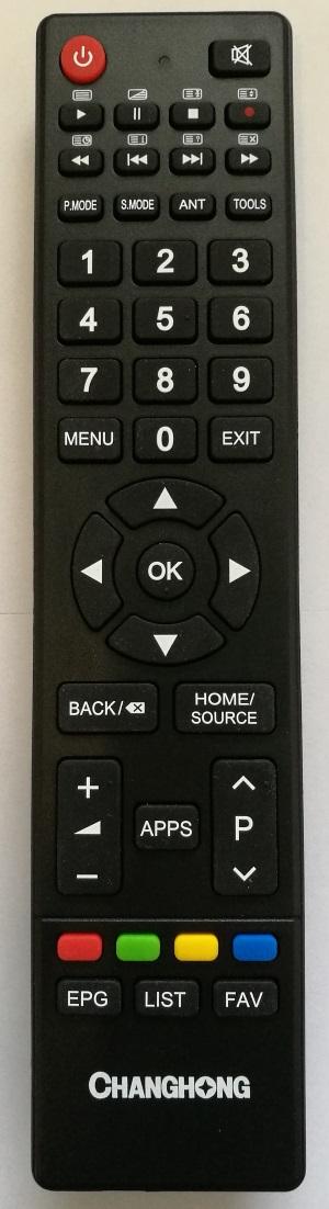 Changhong GCBLTV64AL originální dálkový ovladač