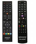 Hitachi RC39105 náhradní dálkový ovladač se stejným popisem