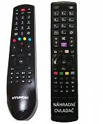 GoGEN TVH28266 náhradní dálkový ovladač se stejným popisem