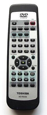 Toshiba SE-R0036, SD-100E náhradní dálkový ovladač jiného vzhledu