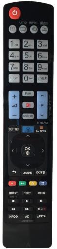 LG AKB73615303 náhradní dálkový ovladač stejného vzhledu