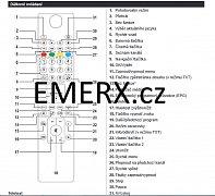Finlux RC4800 19FLZR905LVD originální dálkový ovladač