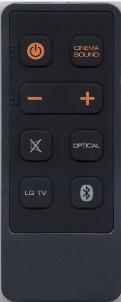 LG AKB73996701 náhradní dálkový ovladač jiného vzhledu