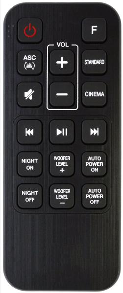 LG AKB74815311 náhradní dálkový ovladač jiného vzhledu