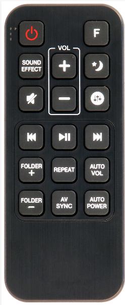LG AKB74815321 náhradní dálkový ovladač jiného vzhledu