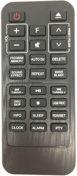LG COV33552430 náhradní dálkový ovladač jiného vzhledu