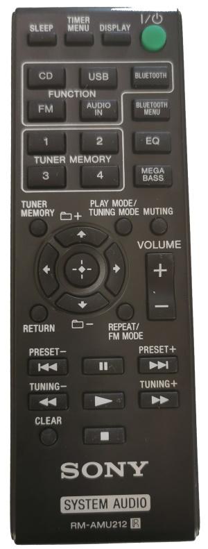Sony RM-AMU212 originální dálkový ovladač