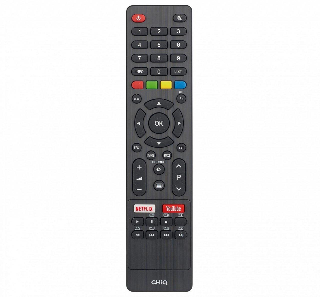 CHiQ L32H7L/N, CHiQ U43H7L/N, CHiQ U50H7L/N, CHiQ U55H7L/N, CHiQ U58G7N  originální dálkový ovladač