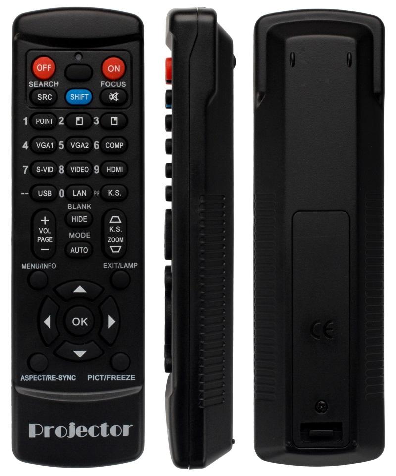 Benq MW621ST MS630ST MS631ST MS632ST  náhradní dálkový ovladač jiného vzhledu pro projektory