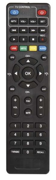 EMOS EM190 HD originální dálkový ovladač.