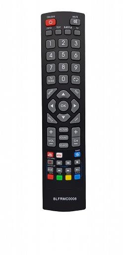 SHARP SHW-RMC-0115 náhradní dálkový ovladač IR černý YouTube, Netflix, Smart