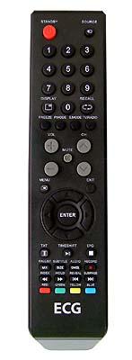 ECG 32LED614D  originální dálkový ovladač