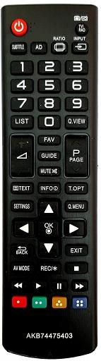 LG AKB74475403 náhradní dálkový ovladač stejného vzhledu