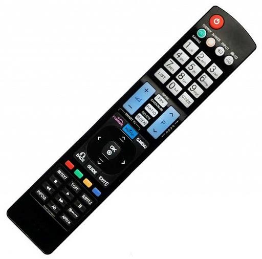 LG AKB73275605 = AKB73275697 náhradní dálkový ovladač stejného vzhledu.