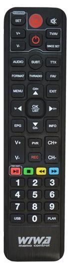 Wiwa originální dálkový ovladač DVB-T