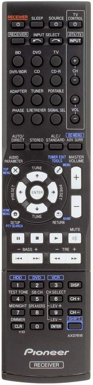 Pioneer AXD7534, AXD7618 náhradní dálkový ovladač jiného vzhledu