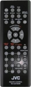 JVC RM-SUXTB30R, UX-TB30 náhradní dálkový ovladač jiného vzhledu