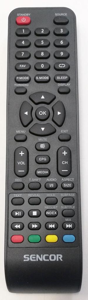 Sencor SLE 43US400TCS originální dálkový ovladač