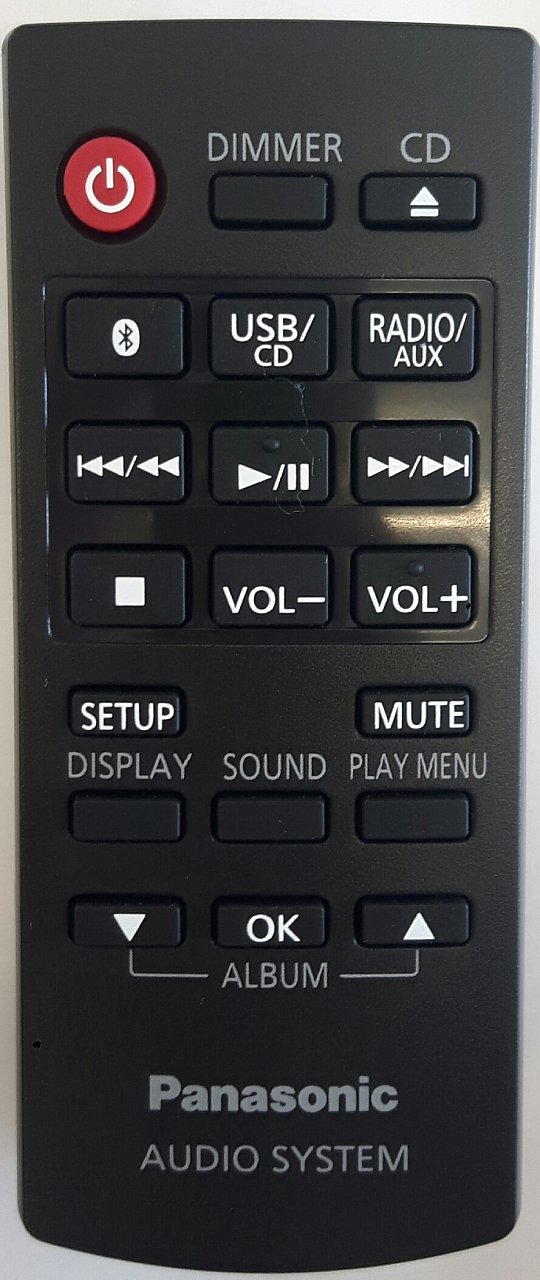 Panasonic N2qayb001093 originální dálkový ovladač