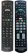 Panasonic N2QAYB001009 náhradní dálkový ovladač se stejným popisem.