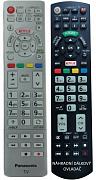 Panasonic N2QAYB001010 náhradní dálkový ovladač se stejným popisem