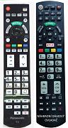 Panasonic N2QAYB000715 náhradní dálkový ovladač  se stejným popisem