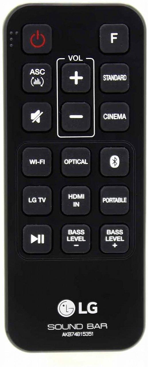 LG AKB74815351 , SH6 náhradní dálkový ovladač jiného vzhledu