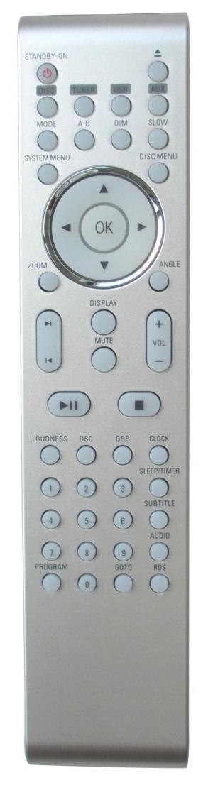Philips MCD288/98 náhradní dálkový ovladač jiného vzhledu