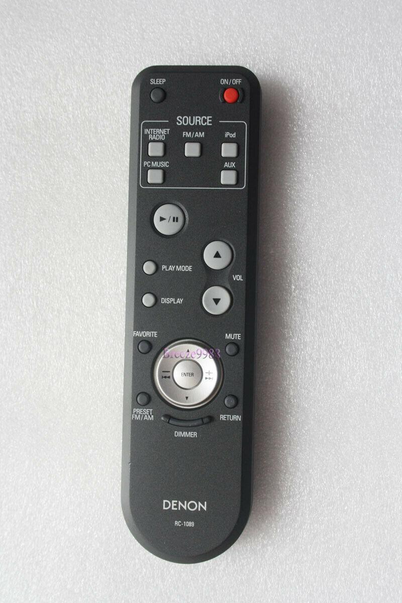 Denon RC-1089 náhradní dálkový ovladač jiného vzhledu.