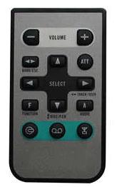 Pioneer CD-R30, DEH-P7850BT, DEH-P4100SD náhradní dálkový ovladač jiného vzhledu