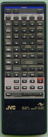 JVC RM-SA551 for AX-R551 náhradní dálkový ovladač jiného vzhledu