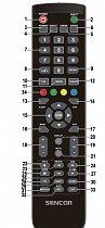 Sencor SLE 3260T náhradní dálkový ovladač jiného vzhledu.
