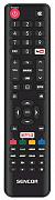 Sencor SLE 43US601 náhradní dálkový ovladač jiného vzhledu.