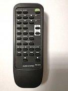 Sony RM-S33 náhradní dálkový ovladač se stejným popisem
