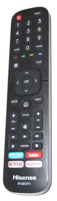 Hisense H55B7100 originální dálkový ovladač.