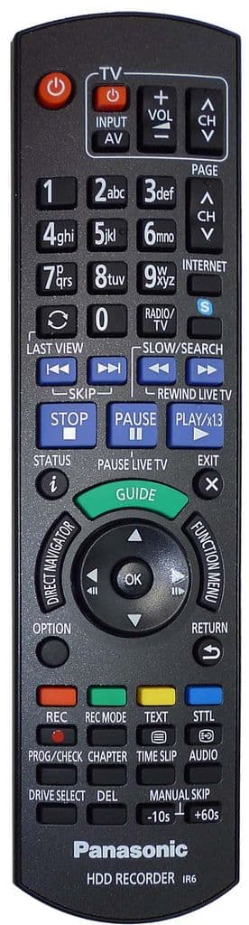 Panasonic N2QAYB000914 originální dálkový ovladač