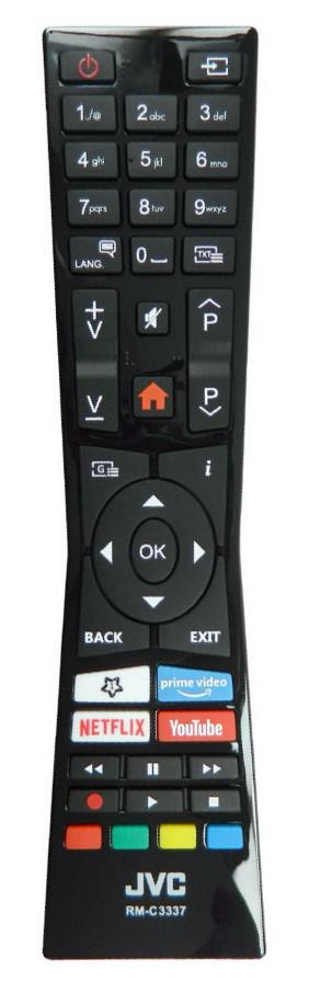 JVC RM-C3337 originální dálkový ovladač
