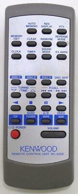 Kenwood XD-655E, RC655E náhradní dálkový ovladač jiného vzhledu