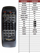 Technics SUC-800U náhradní dálkový ovladač jiného vzhledu
