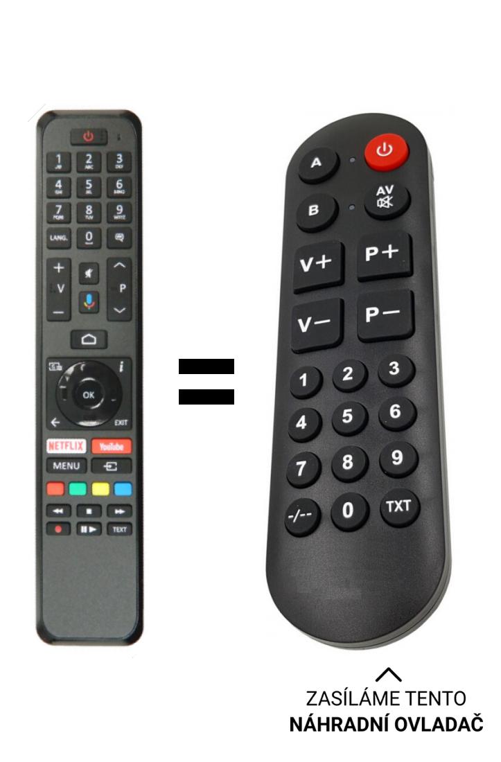 Hitachi R / C 43160/30102695 replacement remote control