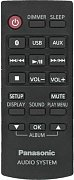 Panasonic N2QAYB001000 originální dálkový ovladač SC-BMAX3, SC-CMAX5