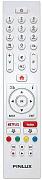 Finlux 22FWDF5161 náhradní dálkový ovladač jiného vzhledu.