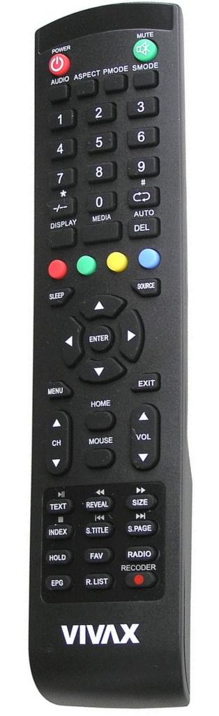 VIVAX TV-32LE78T2S2SM originální dálkový ovladač