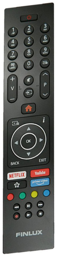 Finlux RC43135P originální dálkový ovladač