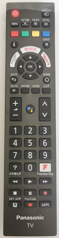 Panasonic N2QBYA000038 originální dálkový ovladač