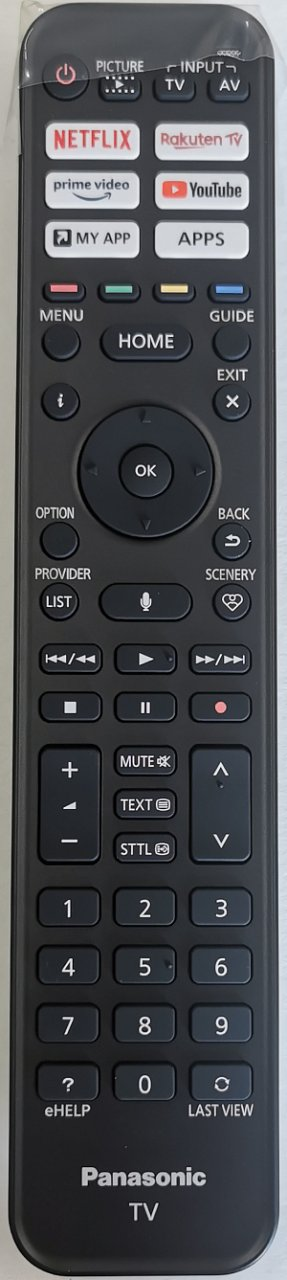 Panasonic N2QBYA000044 originální dálkový ovladač