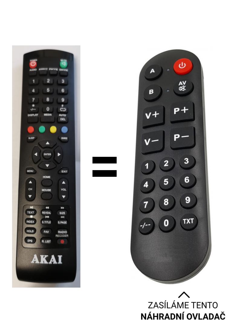 Akai LET 32FS3288 original remote control
